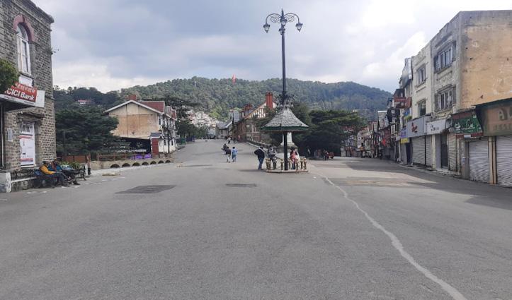 लॉकडाउन जैसे हालात से एक दिन पहले Himachal की इस वक्त की देखें ताजा तस्वीरें