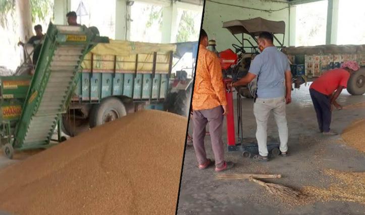 Himachal : बीबीएन के किसान अब गेहूं बेचने के लिए नहीं भटकेंगे दर-दर, नालागढ़ में मिली सुविधा