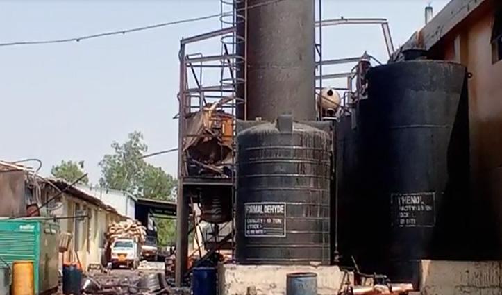 नालागढ़ की फैक्ट्री में ब्लास्ट, एक मजदूर की गई जान और तीन घायल