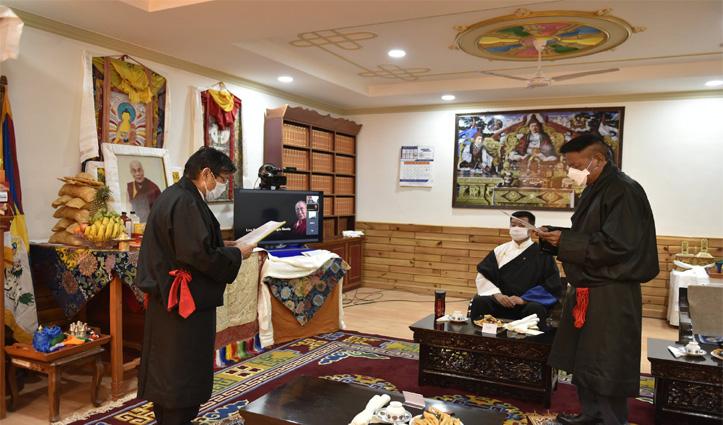 Sikyong Penpa Tsering's Inaugural Address