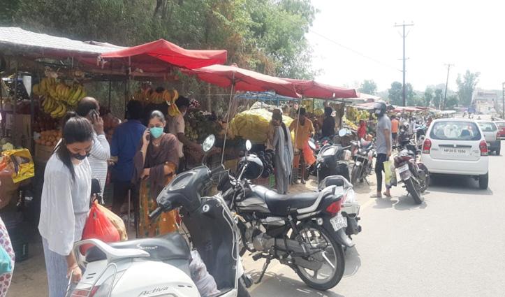 Live Report -अनलॉक होकर तीन घंटे बाजार में पहुंच रहे लोग-बसों के ना चलने से कुछ परेशान भी हुए