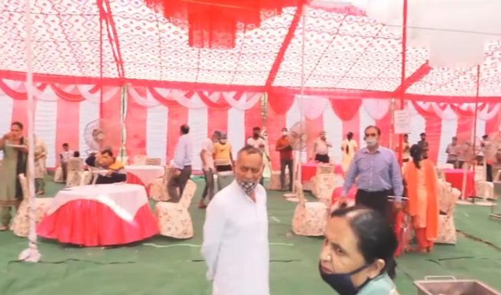Himachal: नहीं मान रहे लोग, शादियों में धाम के साथ काटे जा रहे बकरे-उमड़ रही भीड़