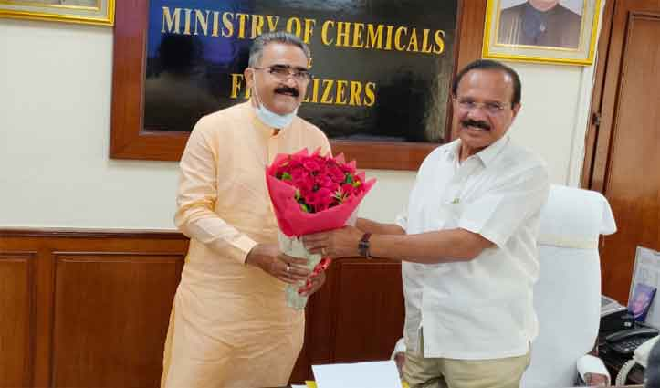 Industries Minister Bikram Singh urges for early allocation of bulk drug parks