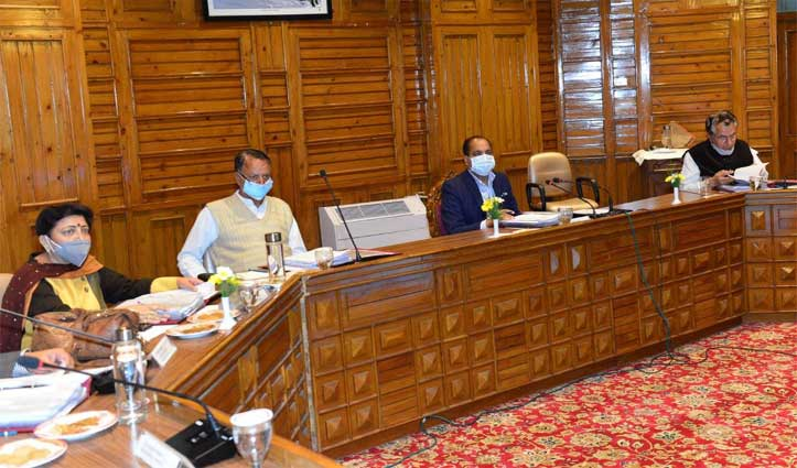 Cabinet Decisions : No requirement of RTPCR tests for entering in himachal
