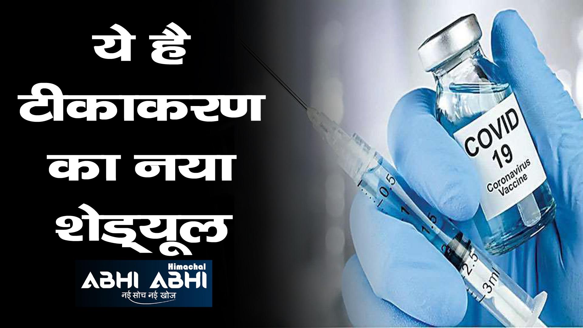 हिमाचल में जून माह में इस हिसाब से लगेगा कोरोना का टीका, यहां पढ़े पूरी डिटेल