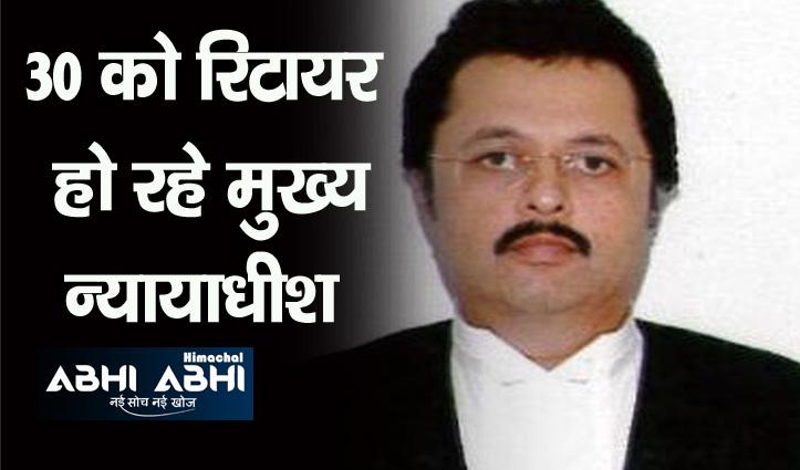 न्यायाधीश रवि मलिमठ होंगे हिमाचल हाईकोर्ट के कार्यवाहक मुख्य न्यायाधीश