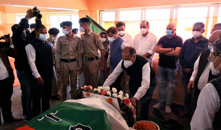 Jubbal-Kotkhai MLA Narendra Bragta dies- cabinet meeting postponed