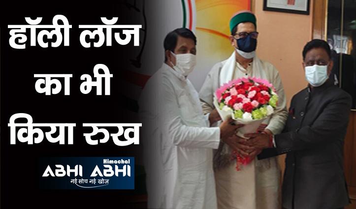 कांग्रेस कार्यकर्ताओं को वार्मअप करने Himachal पहुंचे संजय दत्त