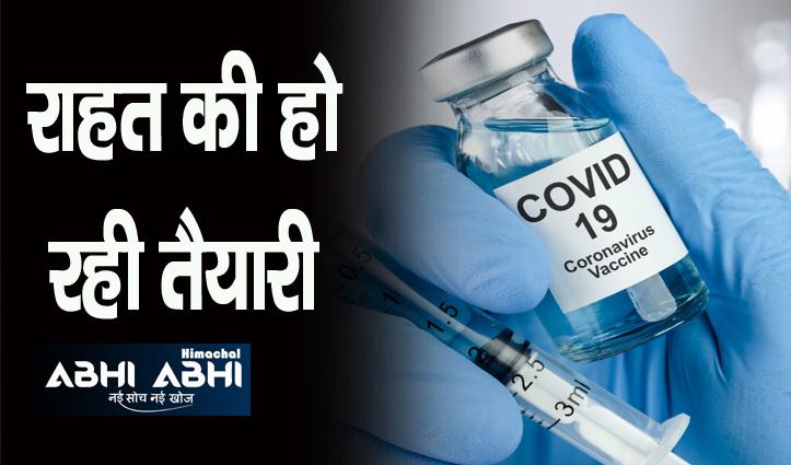 हिमाचल में 18 प्लस कोरोना वैक्सीन को लेकर बड़ी अपडेट, अब होगा ऐसा