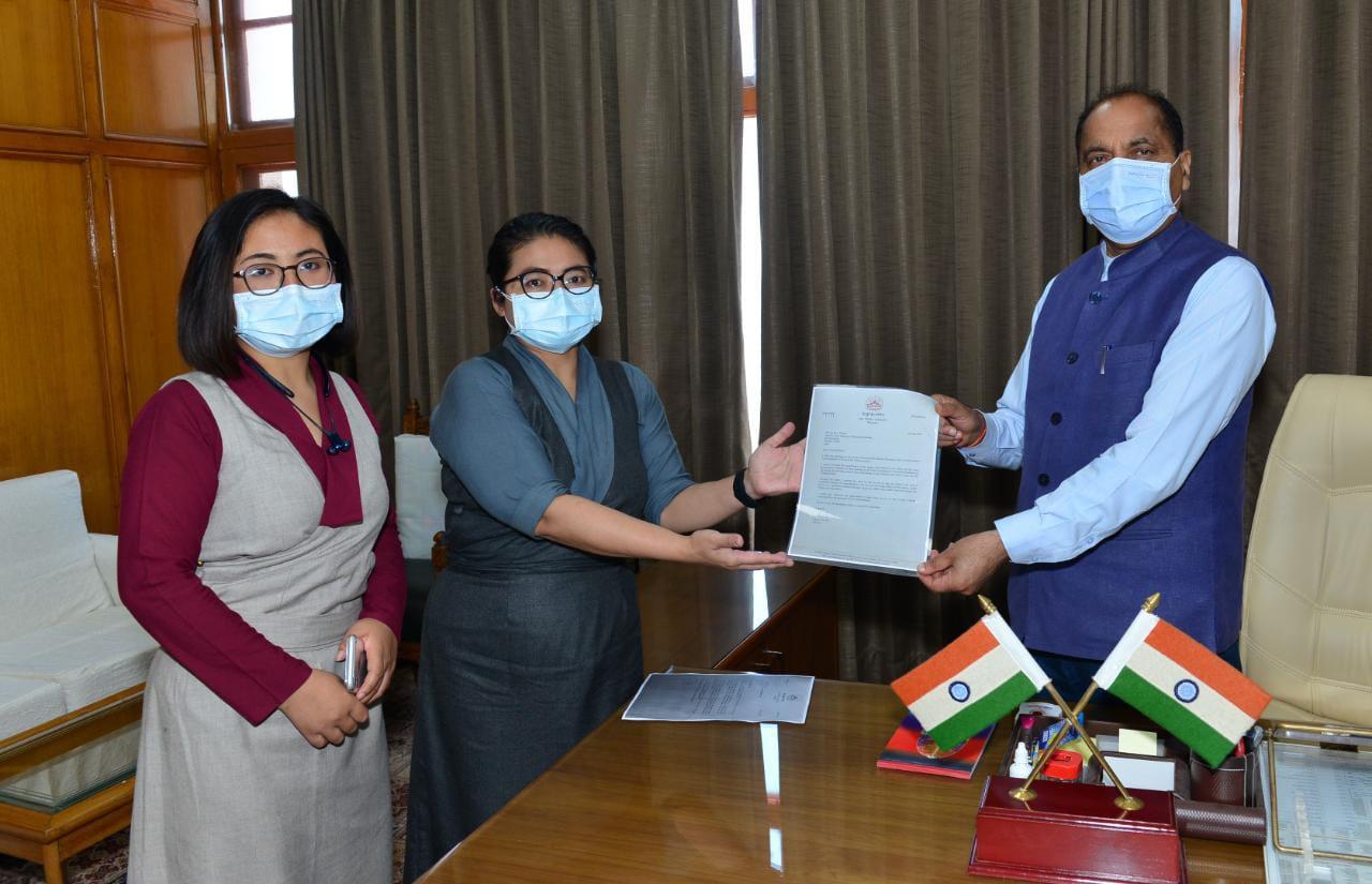 President of Tibetan Government in exile thanks CM Jai Ram Thakur for support