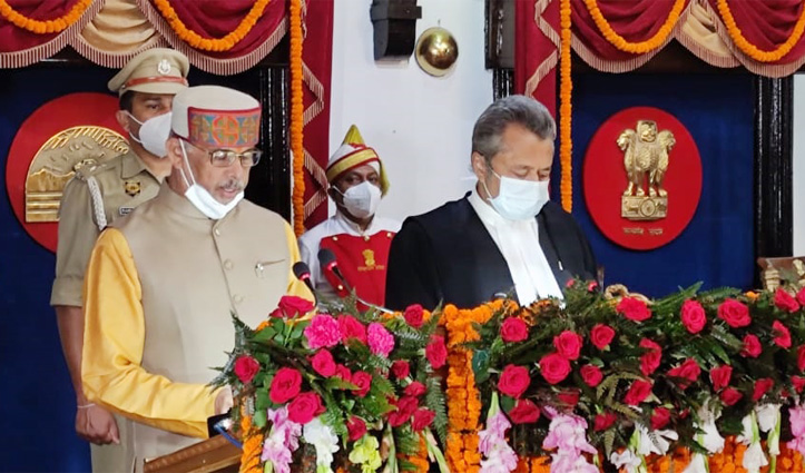 राजेंद्र विश्वनाथ आर्लेकर ने हिमाचल प्रदेश के 28वें राज्यपाल के रूप में ली शपथ