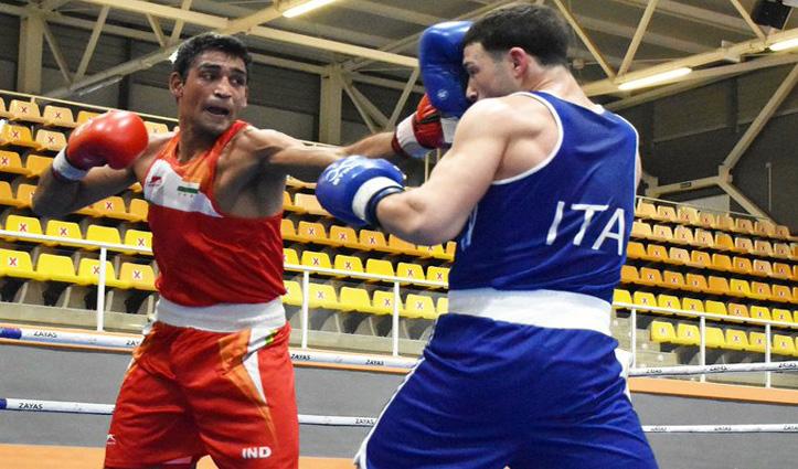 आशीष कुमार चीनी मुक्केबाज से हारे, भारतीय एथलीटों ने किया निराश