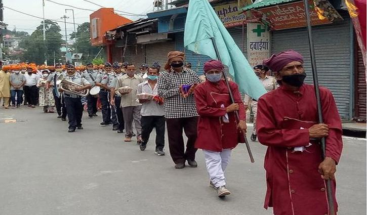 भगवान रघुवीर को मिंजर अर्पित करने के साथ शुरू हुआ मिंजर मेला