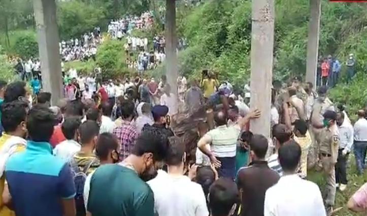राजकीय सम्मान के साथ पैतृक गांव में हुआ शहीद कमल वैद्य का अंतिम संस्कार