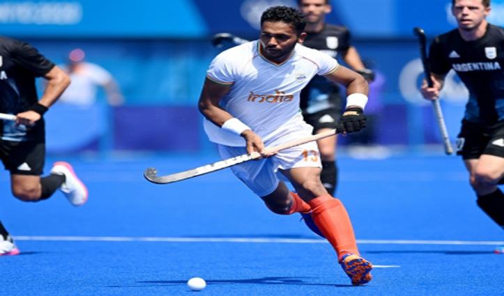 टोक्यो ओलंपिकः पुरुष  हॉकी में भारत ने मौजूदा चैम्पियन अर्जेटीना को 3-1 से हराया