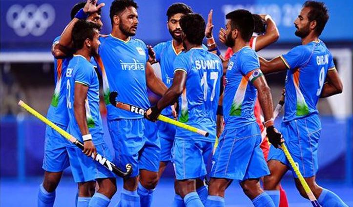 टोक्यो ओलंपिकः पुरुष हॉकी में भारत ने जापान को 5-3 से दी शिकस्त