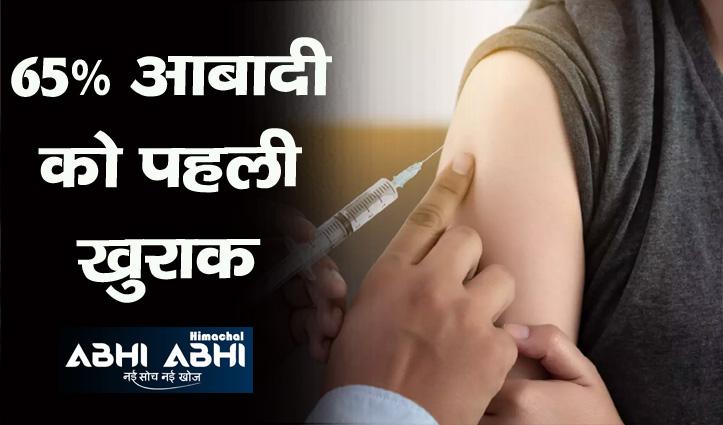 Himachal में कोरोना टीका लगवाने में युवा वर्ग अव्वल, जानिए आंकड़ा