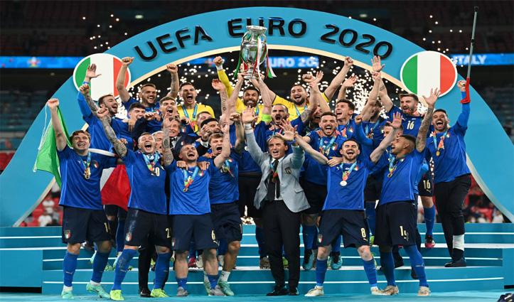 EURO Cup 2020-पर इटली का कब्जा, पेनल्टी शूटआउट में इंग्लैंड को 3-2 से हराया