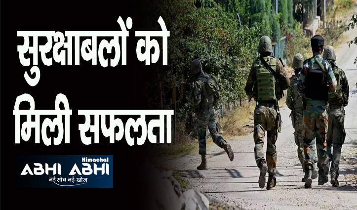 पुलवामा में सुरक्षा बलों ने लश्कर के कमांडर एजाज सहित 3 आतंकी किए ढेर