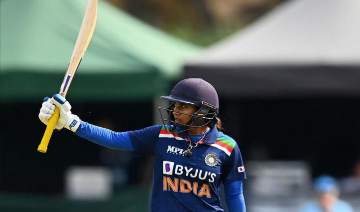 अंतरराष्ट्रीय महिला क्रिकेट में सबसे ज्यादा रन बनाने वाली खिलाड़ी बनीं मिताली राज
