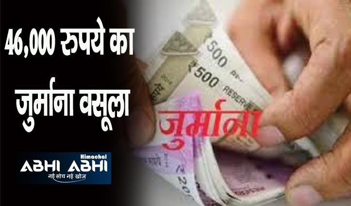 Himachal: कोविड एसओपी का पालन ना करने पर 32 इकाइयों के चालान