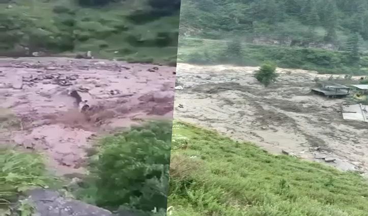हिमाचल में फटे बादल,  कुल्लू में मां-बेटा बहे, लाहुल में एक की मौत, 10 लापता