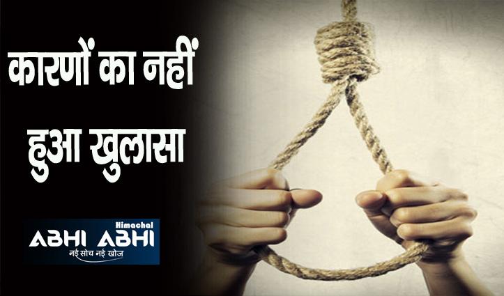 Himachal में दवा कंपनी में कार्यरत व्यक्ति ने उठाया खौफनाक कदम, फंदा लगाकर दे दी जान