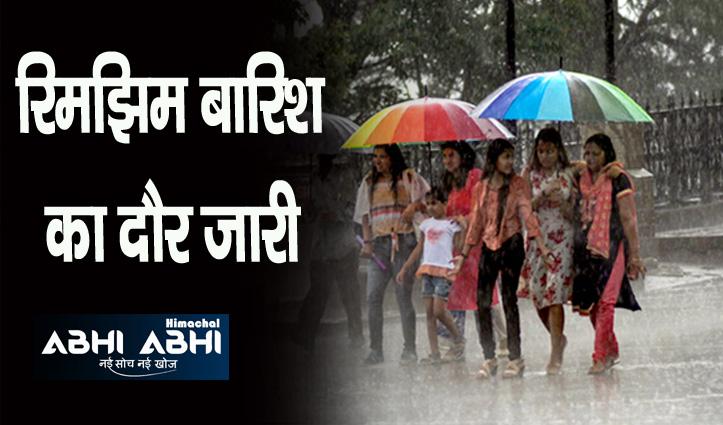हिमाचल में चार दिन भारी बारिश की चेतावनी, 10 जिलों में ओरेंज व येलो अलर्ट जारी