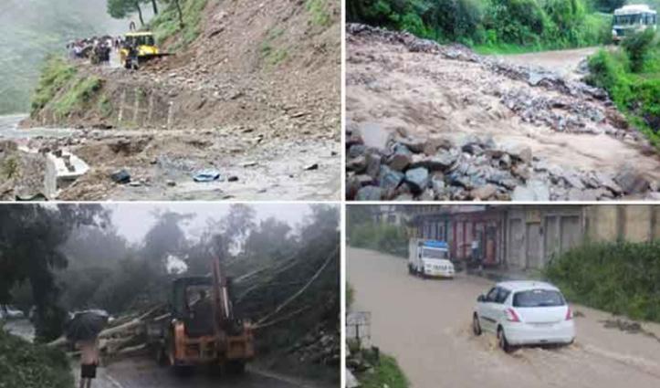 आफत की बारिश से हिमाचल को 800 करोड़ रुपए का नुकसान, 302 लोगों की गई जान