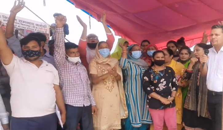 हिमाचल: सफाई कर्मचारियों ने खोला बिलासपुर एम्स प्रबंधन के खिलाफ मोर्चा