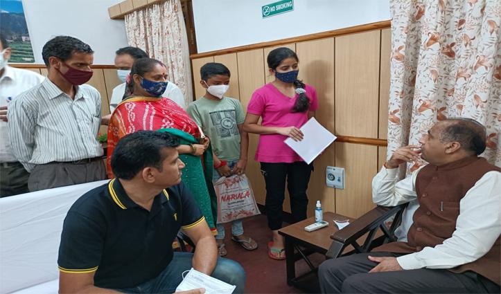कोरोना से अनाथ हुए बच्चों के परिवार का कर्ज उतारेंगे सीएम जयराम ठाकुर