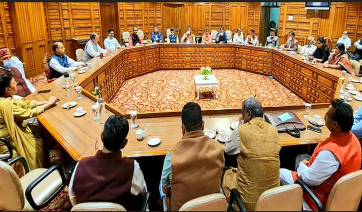 विधानसभा सत्र: सीएम जयराम ने मंत्रियों को पूरी तैयारी के साथ सदन में आने के दिए निर्देश