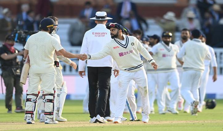 भारत ने लॉर्डस टेस्ट जीता, इंग्लैंड को 151 रनों से दी  शिकस्त