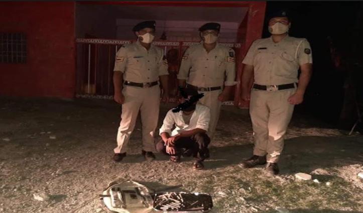 हिमाचल पुलिस को बड़ी कामयाबी: 3 KG चरस के साथ तस्कर गिरफ्तार