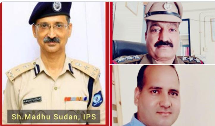 ADG एसपी सिंह को मिला राष्ट्रपति पुलिस पदक, DIG मधूसूदन समेत तीन पुलिस पदक से होंगे सम्मानित