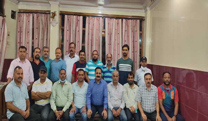 डॉ राजेश शर्मा को फिर से हॉकी कांगड़ा की कमान
