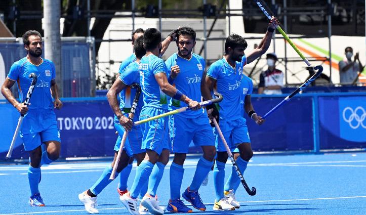 ओलंपिक-पुरुष हॉकी : भारत ने स्वर्ण का मौका गंवाया, अब कांस्य की आस