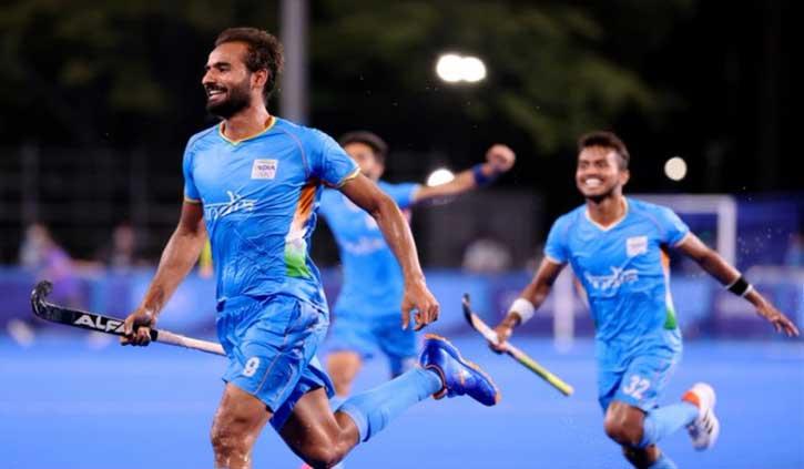 टोक्यो ओलंपिक: हॉकी में ब्रिटेन को हराकर सेमीफाइनल में पहुंचा भारत