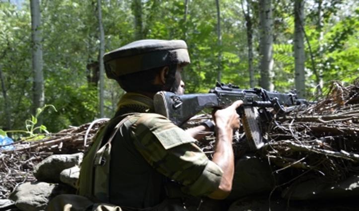 जम्मू-कश्मीर के बडगाम में आतंकवादियों और सुरक्षा बलों के बीच मुठभेड़, एक आतंकी  ढेर