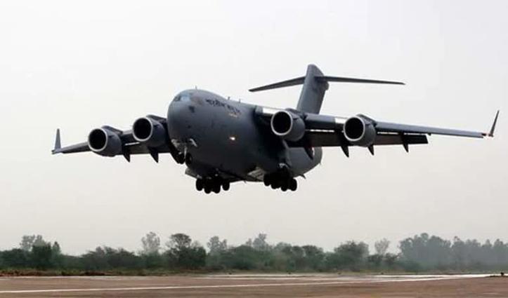 अफगानिस्तान से 130 भारतीयों को लेकर एयरफोर्स का विमान जामनगर पहुंचा
