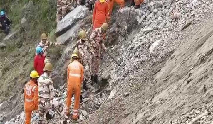 किन्नौर लैंडस्लाइड: आज छह शव मिले, 23 पहुंची मृतकों की संख्या, लापता की सूची जारी