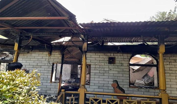हिमाचलः अभी नींद में थे घरवाले और अलसुबह मकान में लग गई आग