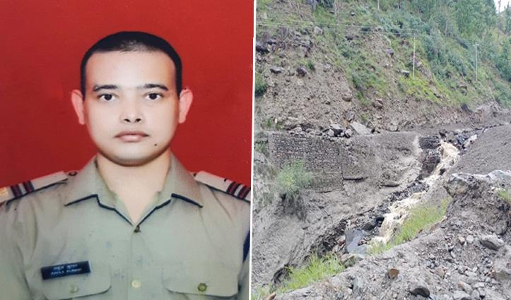 लाहुलः तोंजिग नाला की बाढ़ में लापता बीआरओ के जेई राहुल कुमार का शव मिला, दो की तलाश