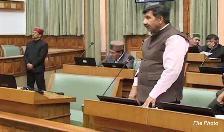 सदन में बोले मुकेश -मंत्री अपने क्षेत्र में गौ शाला और विरोधियों के यहां बना रहे सांडशाला