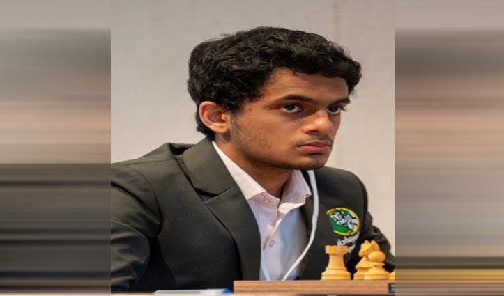 आरटीयू ओपन क्लासिकल शतरंज में संयुक्त दूसरे स्थान पर खिसके निहाल सरीन