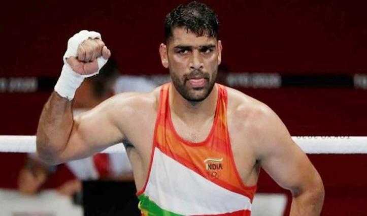 टोक्यो ओलंपिक: मुक्केबाजी में क्वार्टर फाइनल में हारे भारत के सतीश कुमार