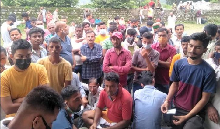 हिमाचल: कोरोना टीका लगवाने आए युवकों में हाथापाई, पीएचसी में तनावपूर्ण बना माहौल