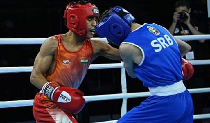 एशियाई युवा मुक्केबाजी चैंपियनशिप के फाइनल में पहुंचे विश्वामित्र चोंगथम