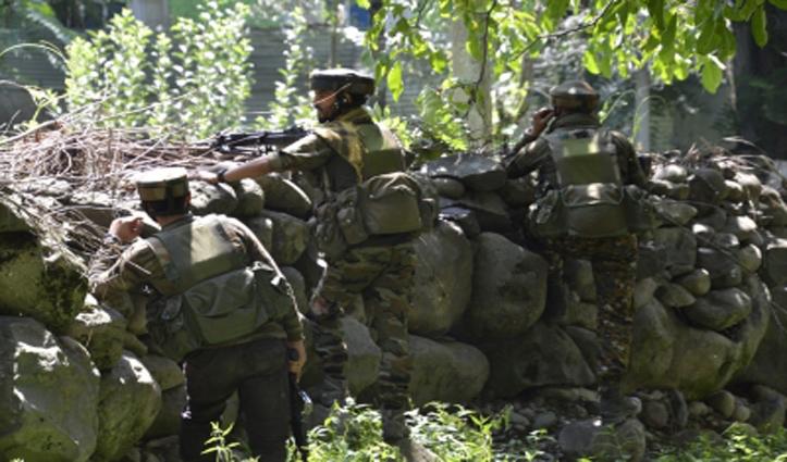 जम्मू- कश्मीर में सुरक्षा बलों के साथ मुठभेड़ में एक आतंकवादी मारा गया