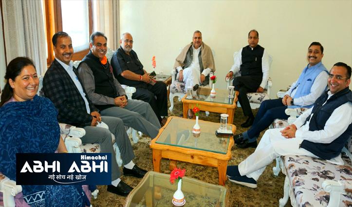 हिमाचलः उपचुनावों की घोषणा होते ही बीजेपी में मंथन का दौर, चुनाव समिति की बैठक जल्द